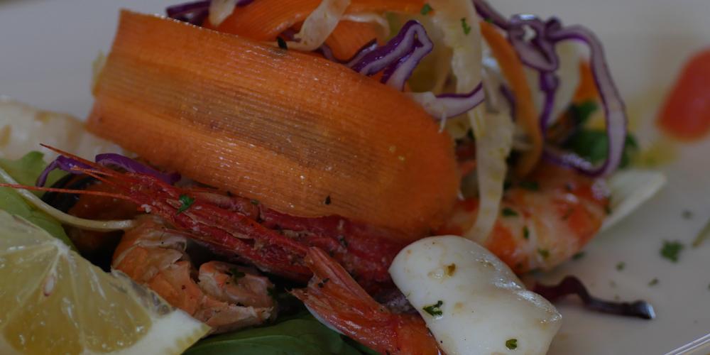 ristorante il granduca - pranzi e cene - degustazione - insalata